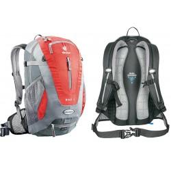 Рюкзак DEUTER BIKE 1SL красно-серый