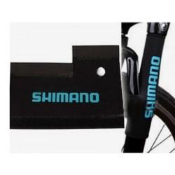 Защита вилки SHIMANO  черная