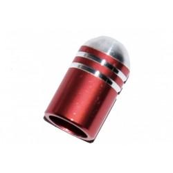 Колпачки для камеры TW V-05 Пуля алюминий авто черный 2 шт.