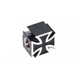 Колпачки для камеры TW V-23 черный крест авто 2шт.