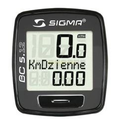Велокомпьютер Sigma 5.12