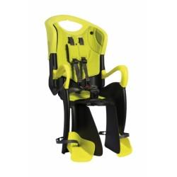 Кресло детское заднее Bellelli Tiger Clamp черно-салатовое HI-Vision на багажник