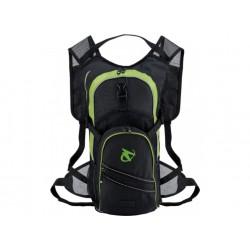 Рюкзак Merida чёрно\зелёный 600d