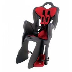 Сиденье детское на багажник BELLELLI B1 сер.\крас