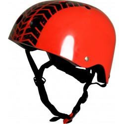 Шлем Kiddi-Moto рис. протектора М\53-58 красный