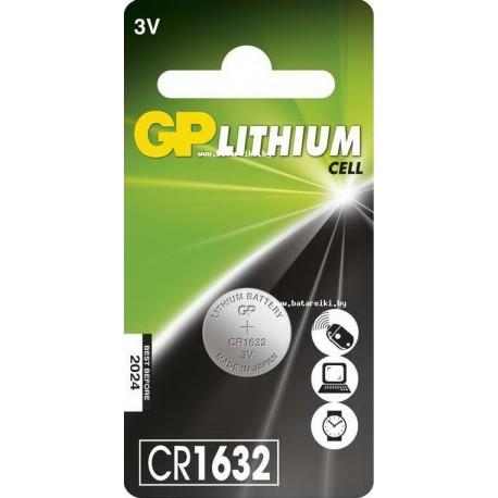 Бaтарейка GP  CR-1632 3V