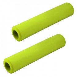Грипсы LONGUS SILICO зелёные