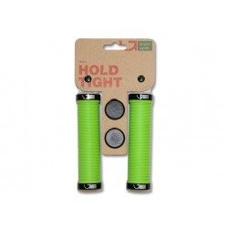 Грипсы Green Cycle GC-G211 зеленые с двумя замками