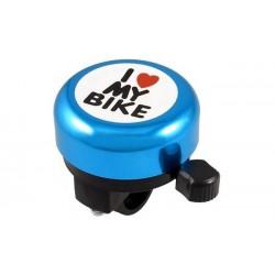 Звонок Green Cycle GCB-1051A-BK синий