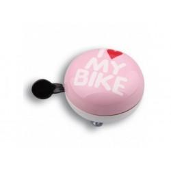 Звонок Green Cycle GCB-1058S розовый