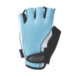 Женские велосипедные перчатки BBB BBW-27  черно-голубые