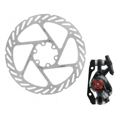 Тормоз  дисковый механический AVID BB7 + ротор 160 мм